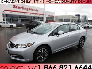 2013 Honda Civic EX | NEW TIRES | COMPREHENSIVE WARRANTY