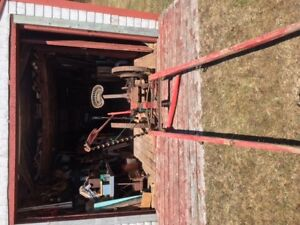 Frost & Wood Single horse drawn mower