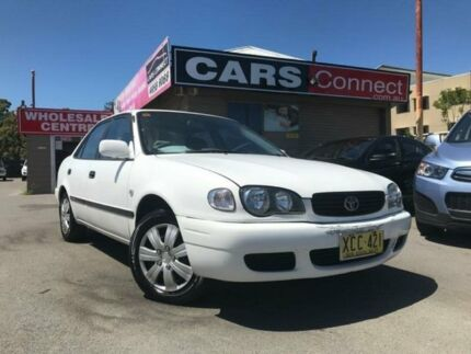 2000 Toyota Corolla AE112R Ascent White 4 Speed Automatic Sedan Edgeworth Lake Macquarie Area Preview