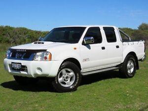 2009 Nissan Navara D22 MY08 ST-R (4x4) White 5 Speed Manual Dual Cab Pick-up Hillman Rockingham Area Preview