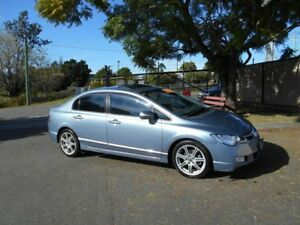 2007 Honda Civic 8th Gen MY07 Sport Silver Automatic Sedan
