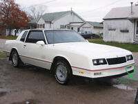 Wanted: Some Parts for My 87 Monte Carlo SS