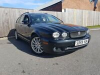 JAGUAR X-TYPE 2.0 S 5DR (black) 2009