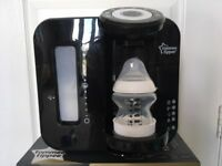 **** TOMMEE TIPPEE PERFECT PREP MACHINE, BLACK, BABY FEEDING, PERFECT CONDITION ****