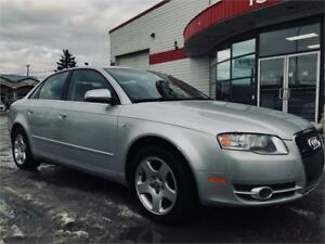 2007 Audi A4 2.0T Low Mileage! Leather Seats! HTD Seats! 111KM