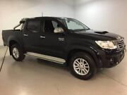 2015 Toyota Hilux KUN26R MY14 SR5 Double Cab Black 5 Speed Automatic Utility West Ryde Ryde Area Preview