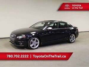 2012 Audi S4 PREMIUM; 333 HP!!! SUNROOF, LEATHER, HEATED SEATS,