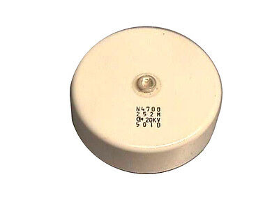 Murata 2500pf 20kv N4700 High Voltage Doorknob Capacitor
