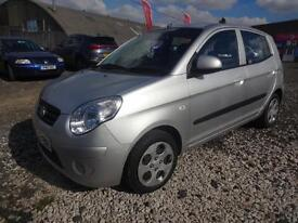 KIA PICANTO 1.1 CHILL~09/2009~MANUAL~5 DOOR HATCHBACK~STUNNING SILVER~LOW MILES