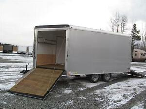 JUST ARRIVED SNOWMOBILE TRAILER WITH TRANSPORT DAMAGE Prince George British Columbia image 5
