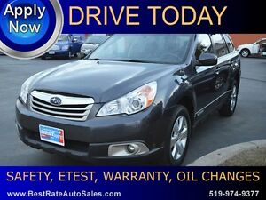 2012 Subaru Outback 3.6R Limited with Leather