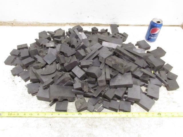 Carbon Graphite Scrap Pieces Mold Material 35.5 Lbs Various Shapes EDM Machine