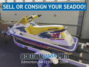 Sell Or Consign Your Seadoo Today!