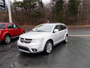 2012 DODGE JOURNEY R/T AWD...LOADED!! LEATHER INTERIOR & MORE!!!
