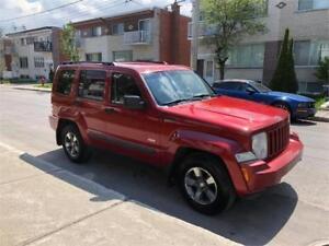 2008 JEEP LIBERTY- automatic- FULL EQUIPER- MEC A1-   3700$  AWD