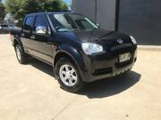 2010 Great Wall V240 K2 Super Luxury Utility Dual Cab 4dr Man 5sp 1000kg 2.4i Black Manual Utility Villawood Bankstown Area Preview