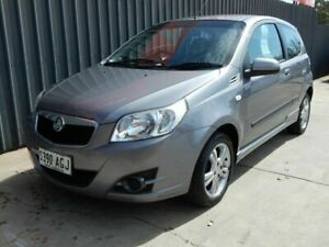 2010 Holden Barina TK MY10 Grey 5 Speed Manual Hatchback Blair Athol Port Adelaide Area Preview