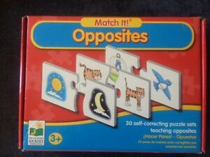 Opposites - Match it (Learning Journey) Oakville / Halton Region Toronto (GTA) image 1