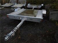 Remorque Aluminium Triton UT8 Trailer