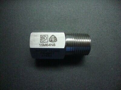 Parker Autoclave Engineers Malefemale Adaptor 38 X 14 Npt 15m64n8 New