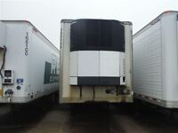 2008 Manac B-Train Reefer Van, Used Reefer Van Trailer