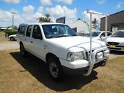 2005 Ford Courier PH GL Crew Cab White 5 Speed Manual Crewcab Ballina Ballina Area Preview