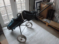 Ladies Golf Clubs, Bag & Trolley - Great set for a beginner