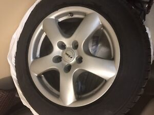 4 Winter Tires and Rim (Used) R255/55 r18 St. John's Newfoundland image 3