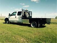 2012 Ford F-350 XLT CAB & CHASSIS WITH 9 FOOT DECK