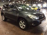 2007 TOYOTA RAV4 2.2 D-4D XT-R 4X4 DIESEL MANUAL EXCELLENT DRIVE 5 SEATS NOT X3 FREELANDER QASHQAI
