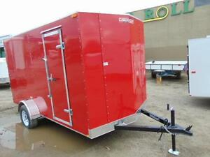 2016 Mirage 6X12 V-Nose Cargo Trailer w. Extra Height and Ramp