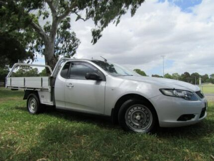 2008 Ford Falcon FG Super Cab Silver 4 Speed Sports Automatic Cab Chassis Dandenong Greater Dandenong Preview