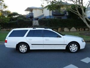 2006 Ford Falcon BF XT (LPG) White 4 Speed Auto Seq Sportshift Wagon Chermside Brisbane North East Preview