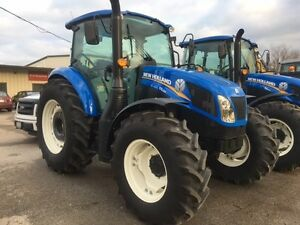 2016 New Holland T4.120 4WD Tractor