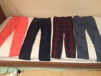Girl's clothes, trousers for 10 to 12 years old