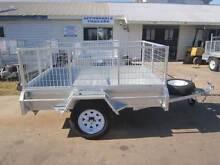 BRAND NEW 7X5 BOX TRAILER CAGE TILT GAL SPARE WHEEL Maryborough Fraser Coast Preview