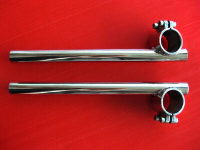 YAMAHA SR500 XS650 CLIP-ON HANDLE BAR SET 35MM.