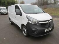 Vauxhall Vivaro 2900 1.6Cdti 115Ps H1 Van DIESEL MANUAL WHITE (2014)