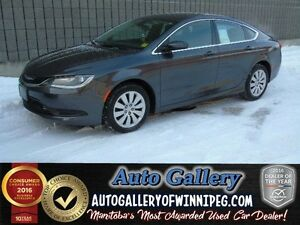 2015 Chrysler 200 LX *9 Spd/Low Kms!