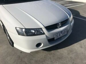 2005 Holden Crewman VZ S White 4 Speed Automatic Utility