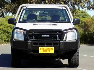 2010 Isuzu D-MAX MY09 SX White 5 Speed Manual Cab Chassis Blair Athol Port Adelaide Area Preview