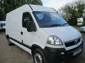 2006 Vauxhall Movano 2.5CDTI 16v ( 115ps ) MWB 3500 High Roof no vat