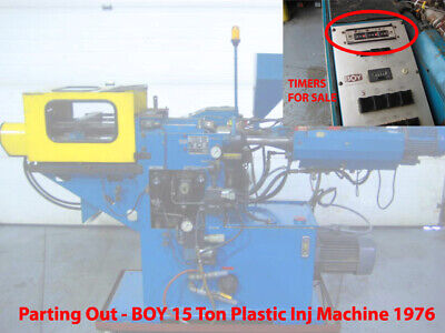 Complete Timer Assembly Boy 15 Ton Plastic Injection Molding Machine Parting Out