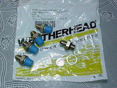 Dana Weatherhead Hydraulic Hose Fittings 16417-2 M Brit Std Para To M Sae 37 Ji