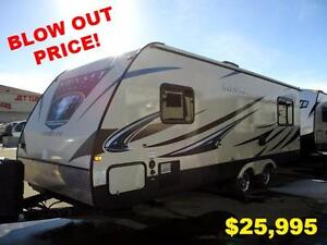 BLOW OUT PRICE!!!  2015 Sunset Trail 240RE