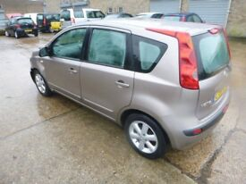 NISSAN NOTE - LT56WFR - DIRECT FROM INS CO