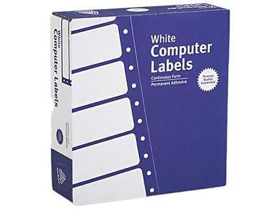 Avery 4031 Dot Matrix Printer Address Labels 3 Across 1516 X 3-12 White 15