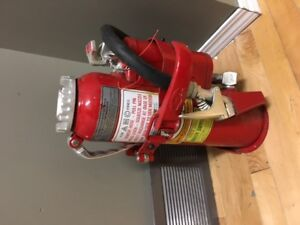 Fire Extinguisher. High capacity