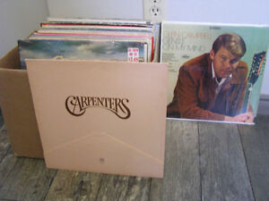 Vinyl Records 1960-1980 Long-playing 33's Great Condition