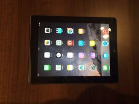 Apple iPad Model A1395 16 GB WiFi Black Unlocked Excellent Condition